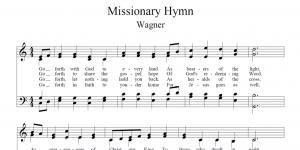Missionary Hymn