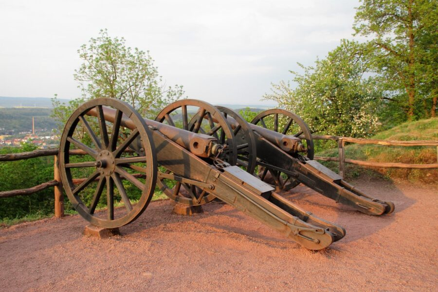 Canons at Wartburg Castle in Eisenach, Germany | Christina Joy Hommes